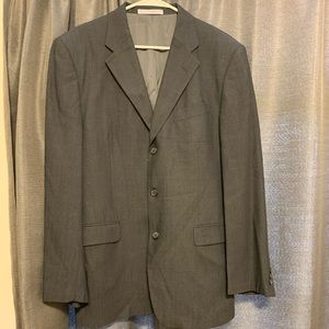 Covarra steel grey suit